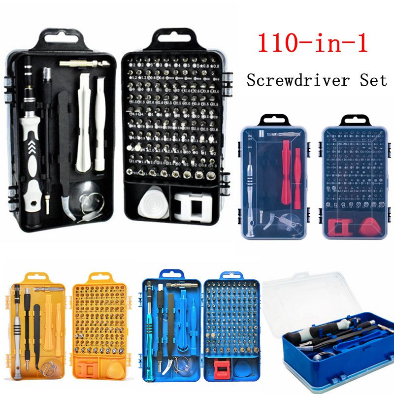 115 In 1 Screwdriver Set Multifunctional Repair Tool Glasses Watches Mobile Phones Computers Electronic Devices Repair Hand Tool
