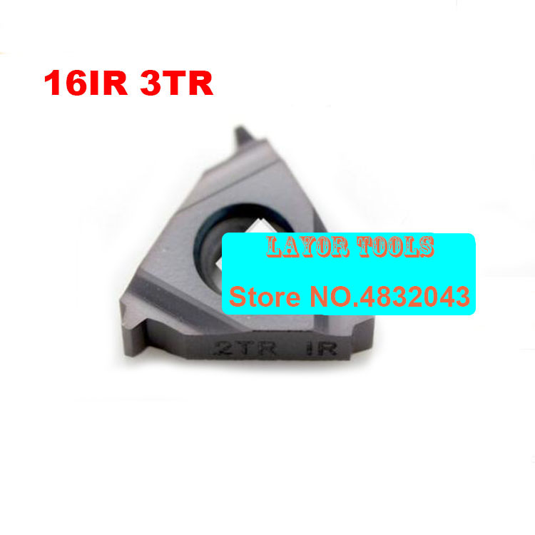 16 IR 3 TR ,Indexable Tungsten Carbide Threading Lathe Inserts For Threaded Lathe Holder,thread Turning Tool Holders