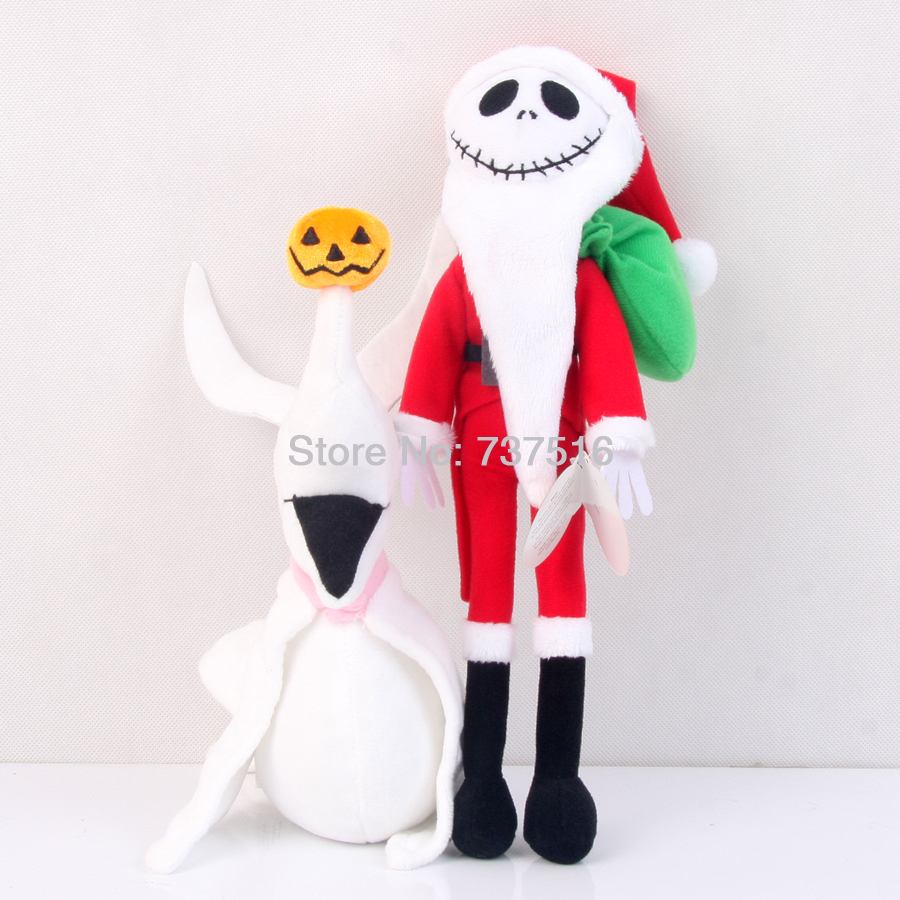 Set Of 2Pcs New The Nightmare Before Christmas Zero 8\'\' Jack ...