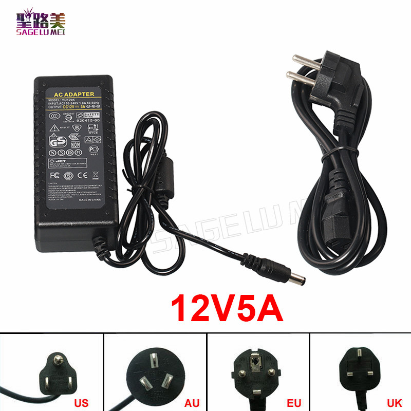 آداپتور برق AC به DC 110V 220V تا 12V 5V 24V 2A 3A 5A 7A 8A 10A 12V DC 24V LED Supply Power 5volt Transformer 12volts