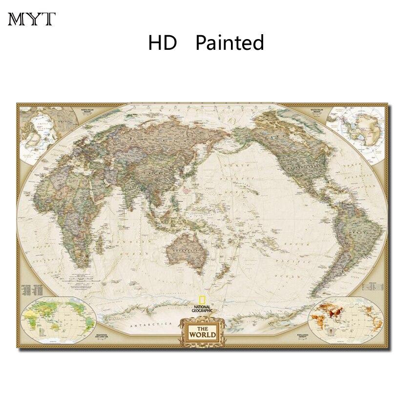 Горячие продажи поп-карта HD картины напечатаны на холсте стены картину для гостиной Гостиная Home Decor нет оформлена или сделай сам оформлена