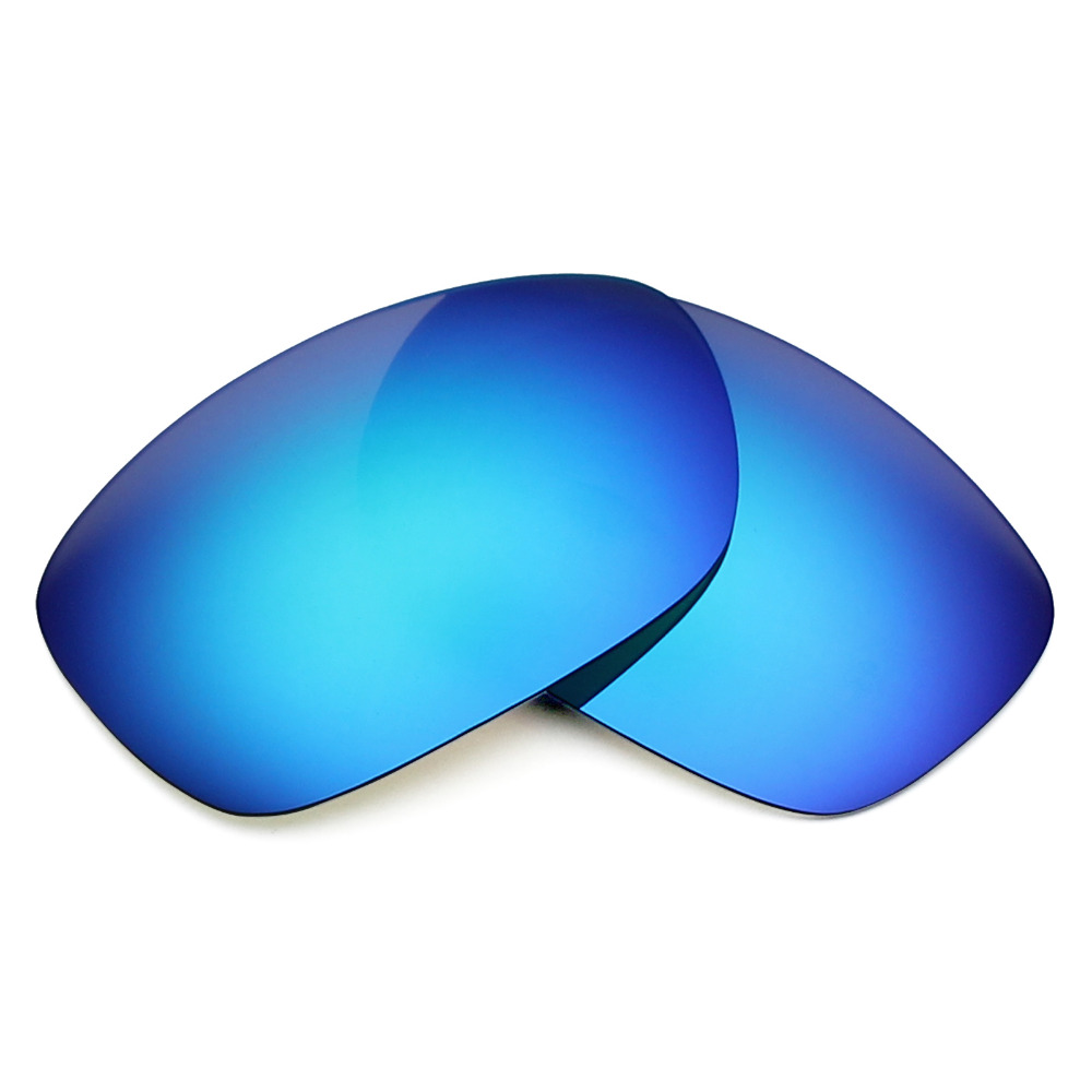 73b6243a4c6 4 Pairs Mryok POLARIZED Replacement Lenses for Oakley Ten Sunglasses  Stealth Black   Ice Blue   Fire Red   Silver Titanium-in Accessories from  Apparel ...