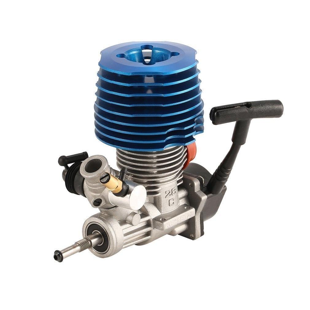 HSP RC Carro 1: 8 Buggy Monstro Truggy Nitro Engine CXP SH 28 M28-P3 4.57CC 3.8hp 33000 rpm Do Motor De Escape Lateral Puxar Arranque