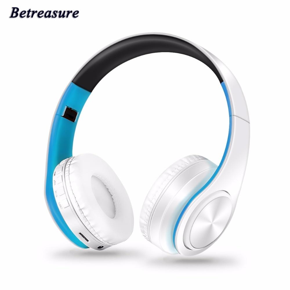 Betreasure BT660 Bluetooth Headset headphones wireless Sport Headphones On the Ear headphone For Android IOS Phone jbl synchros reflect i in ear sport headphones for ios devices black