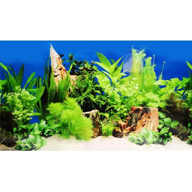 online shop aquarium background poster fish tank ocean decorative