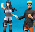 Naruto Figuras de Ação Anime Japonês Figura Naruto Shippuden Filme Figure Set Estatueta PVC Brinquedos 2 pçs/set Hinata Naruto Anime