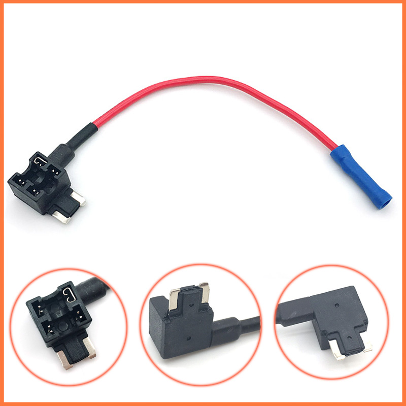 5 Add-A-Circuit Mini Fuse Tap Adapter Holder Low Profile Micro Blade Car Auto US