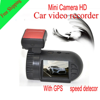 Factory Promotion New Arrival Car DVR Recorder MiniAmbarella With HDR Super HD 2560X1080P 30FPS GPS 140 Degree