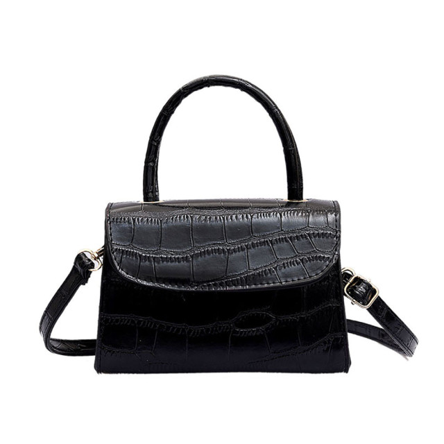 Ladies Crocodile Tattoo Shoulder Strap Bag