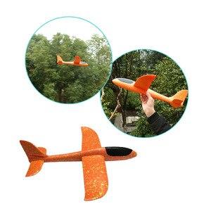 Image 5 - 5 stücke Große Hand Starten Werfen Segelflugzeug Aircraft Inertial Schaum EPP Flugzeug Spielzeug Kinder Flugzeug Modelle Outdoor Spaß Spielzeug freies verschiffen