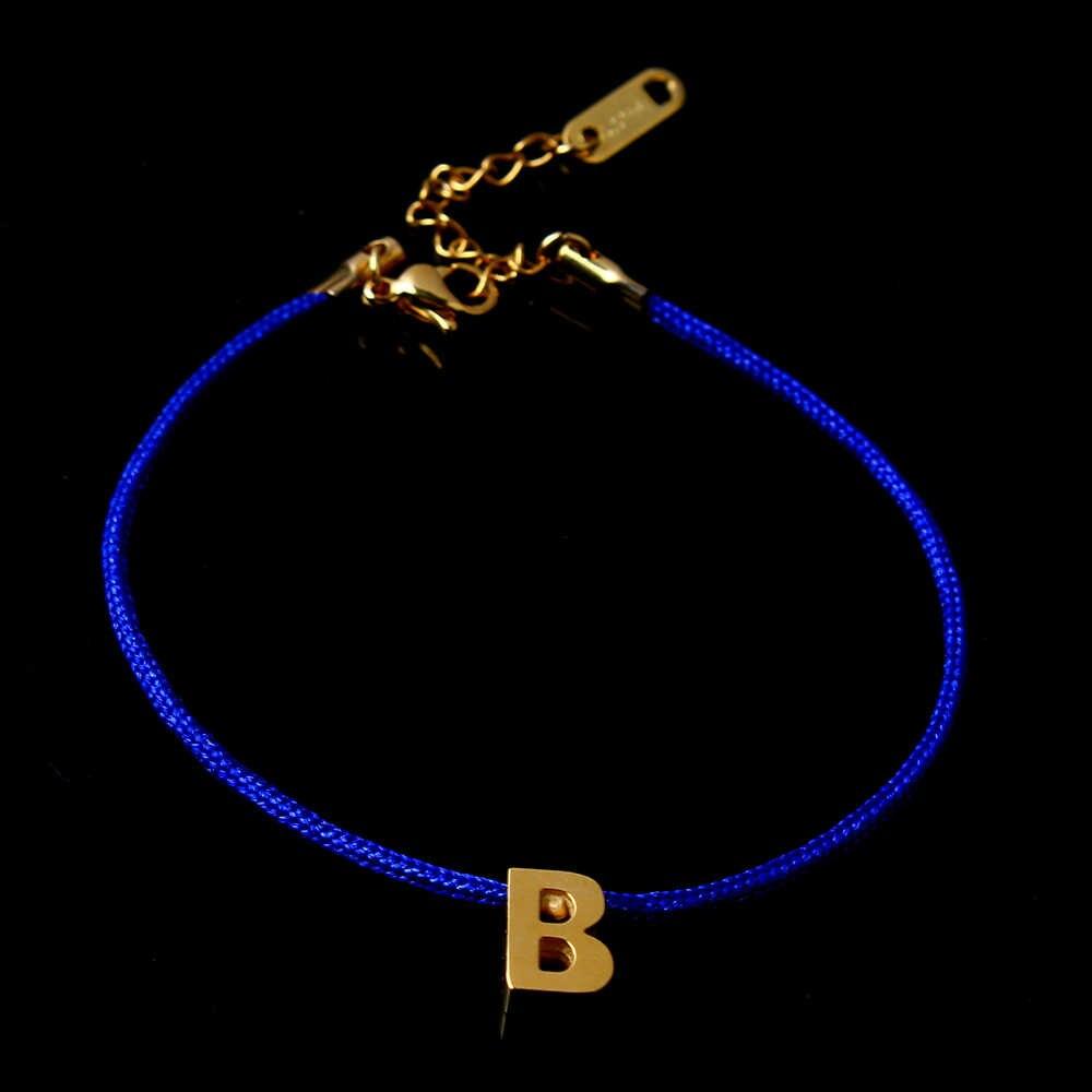 ZUUZ إلكتروني B أساور أساور الصداقة للنساء الإناث فام الذهب والمجوهرات الفولاذ المقاوم للصدأ الاكسسوارات مبكرة المجوهرات سحر