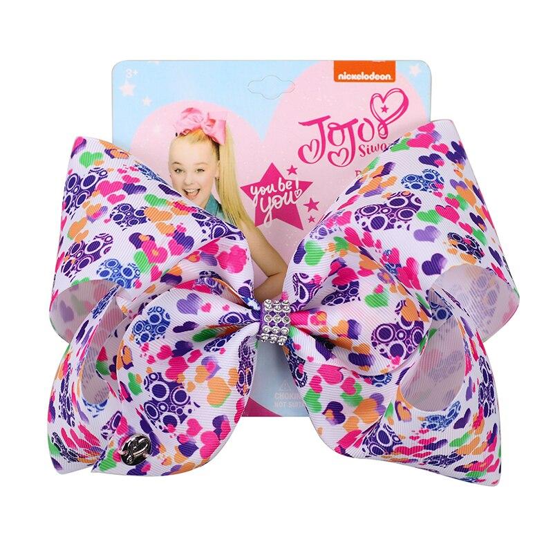 8 large jojo bows girls