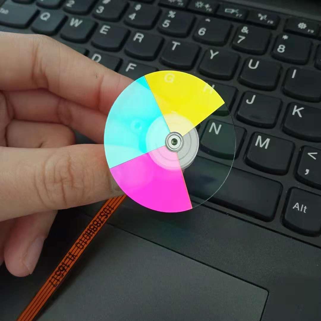 Nouvelle roue de couleur de projecteur dorigine pour Viewsonic Pj506d (4 couleurs)Nouvelle roue de couleur de projecteur dorigine pour Viewsonic Pj506d (4 couleurs)