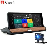 Junsun 7 Inch 3G Car GPS Navigation Android Dvrs Rear View Camera Bluetooth WIFI FM Car