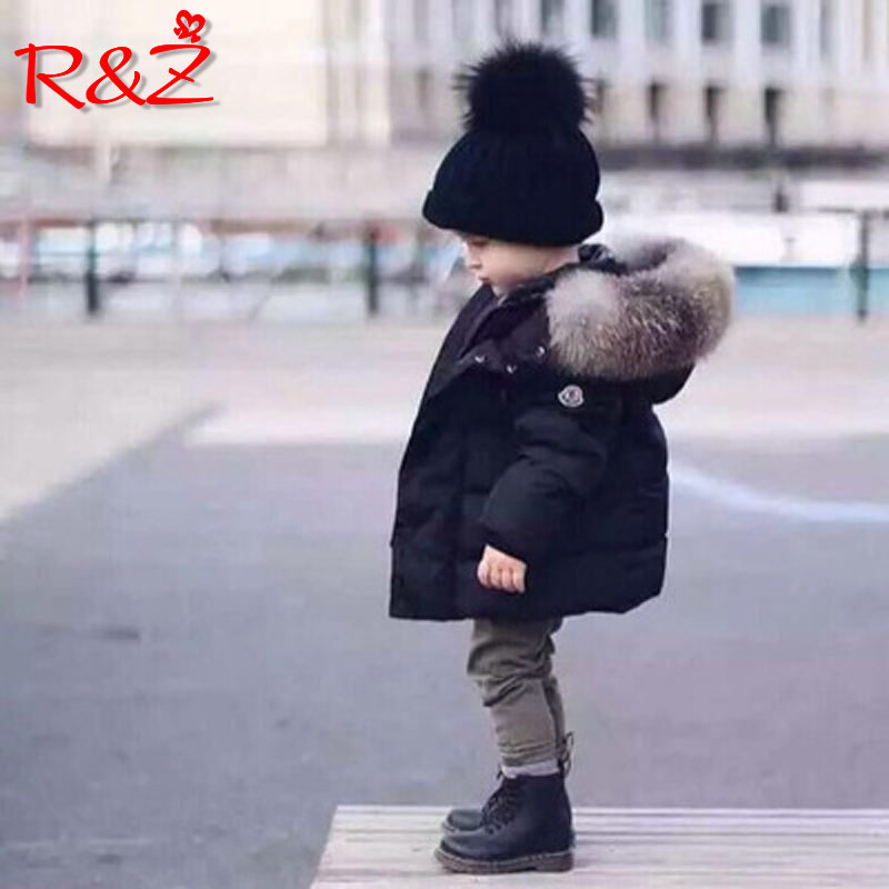 R&Z childrens down jacket 2019 winter new INS childrens clothing small boys and girls with hood cotton padded warm coatR&Z childrens down jacket 2019 winter new INS childrens clothing small boys and girls with hood cotton padded warm coat