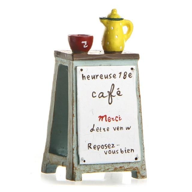New Arrivals Groceries Billboard Teapot Vase Props Pvc Action