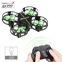 RC Мини Quadcopter Drone 2,4 г 4CH Quadcopter Дрон 4 Каналы 6 оси гироскопа вертолеты с светодиодный свежий легкий игрушки D2