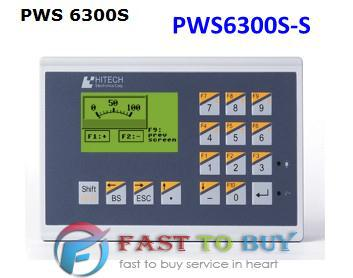 PWS6300S-S HITECH HMI/Touch Screen/Human Machine Interface New in box pws6700t p 7 5 inch hitech hmi pws6700t p update to pws6710t p touch screen panel human machine interface fast shipping