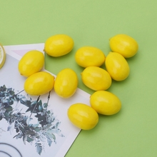 20pcs Lifelike Simulation Artificial Lemon Fake Fruit Disply Home Party Decor