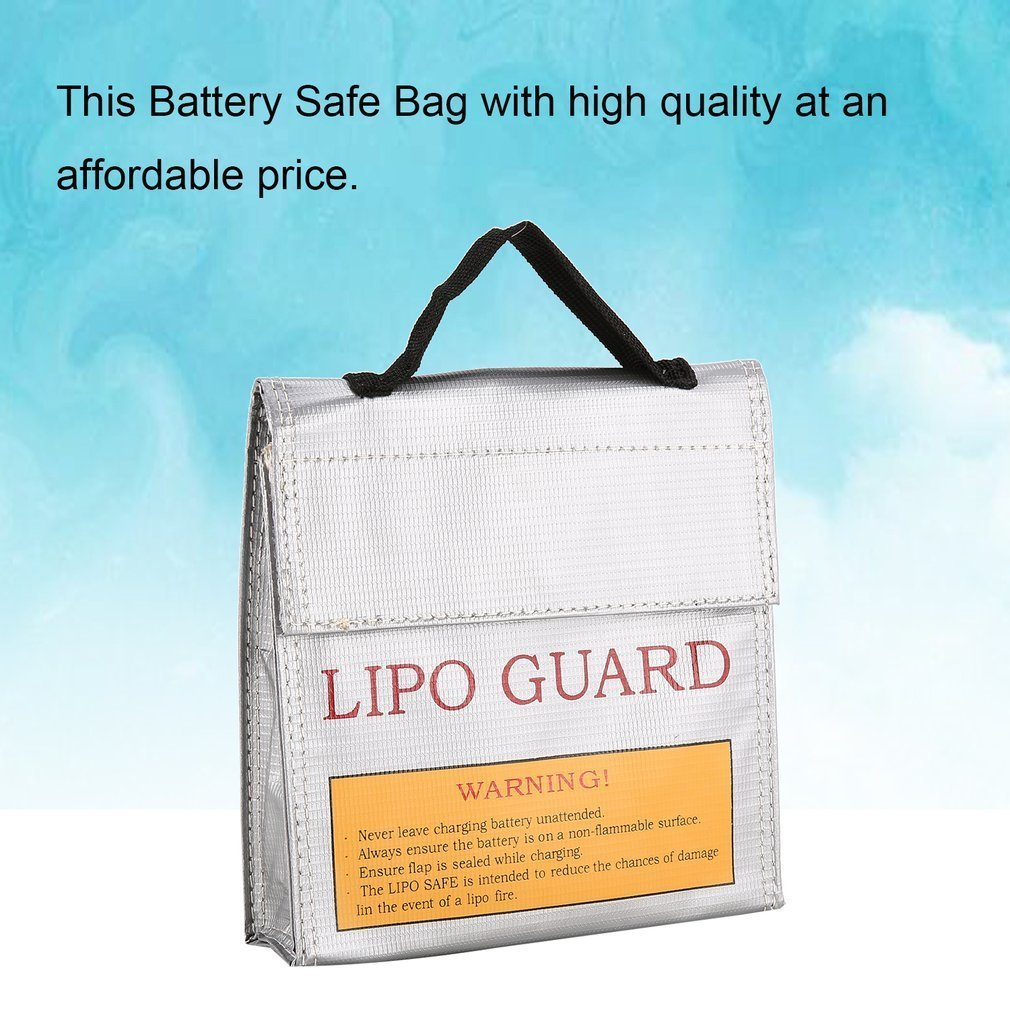1 X Battery Safety Bag