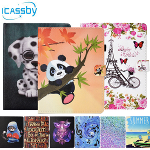Flip Book Case For Coque Huawei MediaPad T5 10.0 AGS2-W09 AGS2-L09 Cute Cat Leather Wallet Phone Cover For Huawei T5 10.0 Case