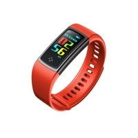 YKSO Smart Wristbands Smart Band Heart Rate Monitor Fitness Bracelet Smart Band Blood Pressure Color Screen