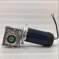 24V500W48V800W DC geared motor high torque RV reducer worm gear reducer