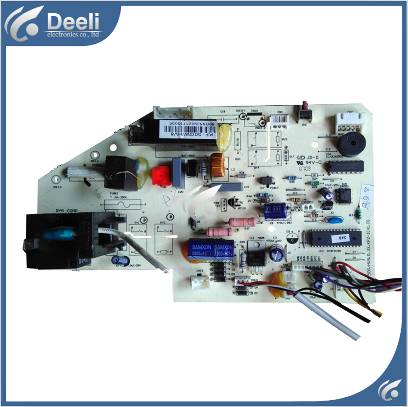 95% new good working for Midea air conditioning board KF-50GW/Y-T6 control board good working original used for power supply board led50r6680au kip l150e08c2 35018928 34011135