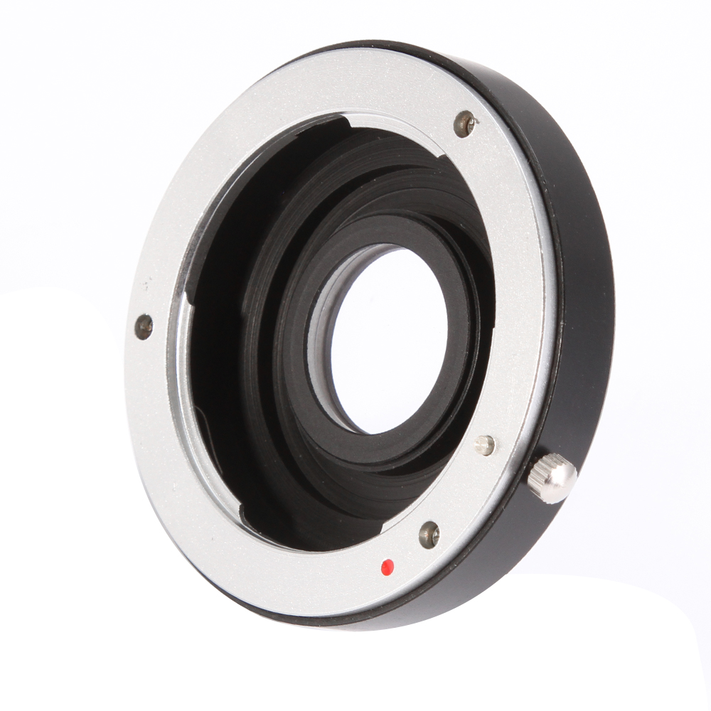 Fotga Lens Adapter With Glass for Pentax PK K Lens to Nikon D810 D800 D750 D7100 D5300 D7200