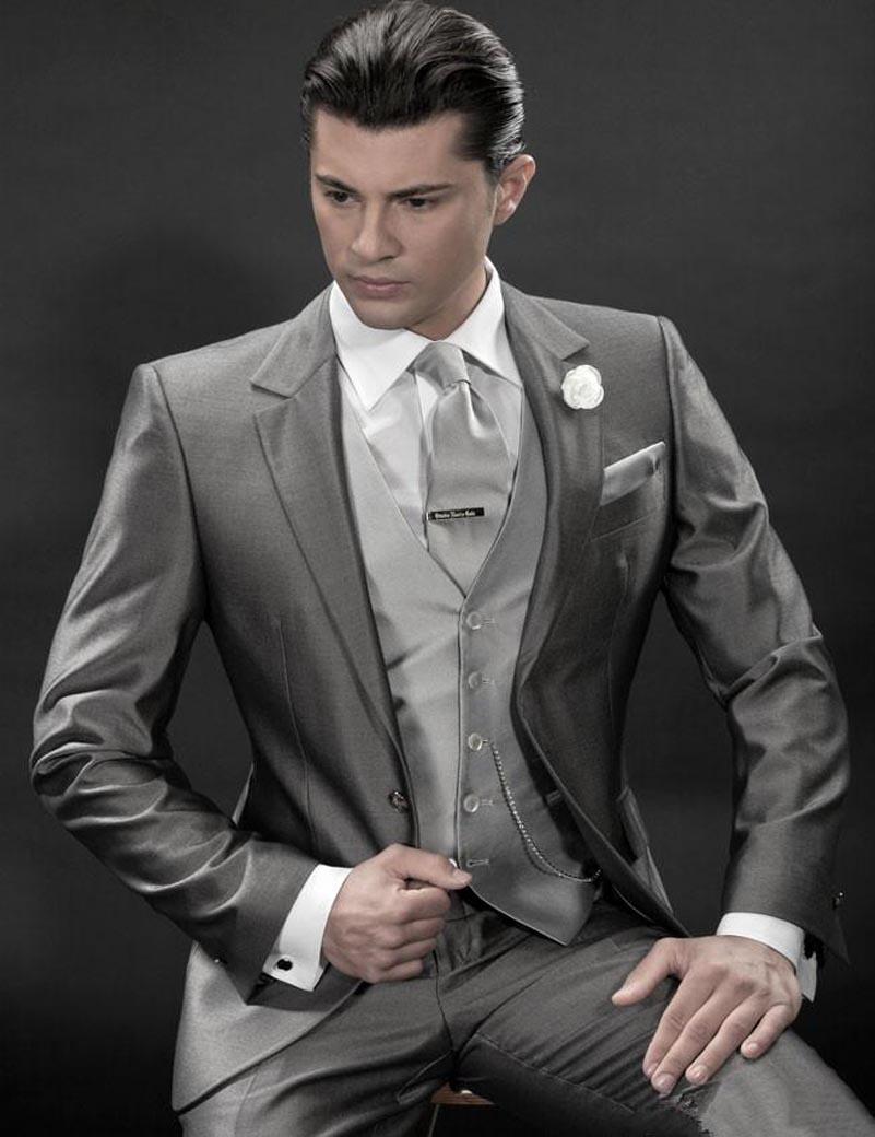 2016 Mens White Suit For Weddings Suits For Men Tuxedo For ...