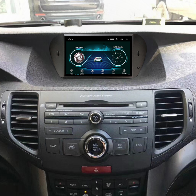 Android 8.1 ROM32GB Quad core pour honda Accord 8 corsstour acura tsx 2008-2013 autoradio GPS Navigation lecteur radio multimédia