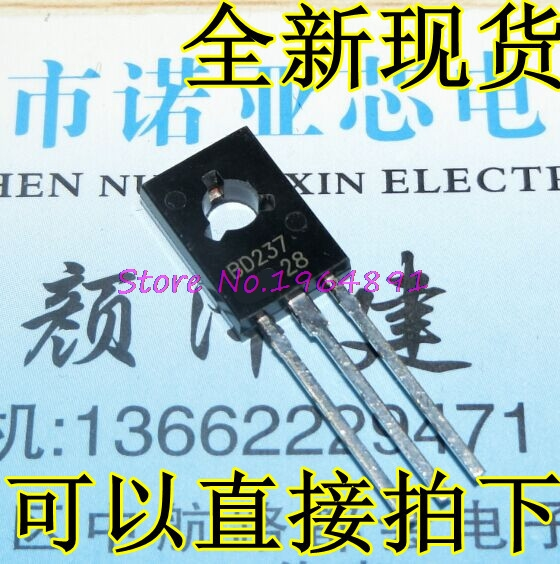 20pcs/lot BD237 TO-126 In Stock