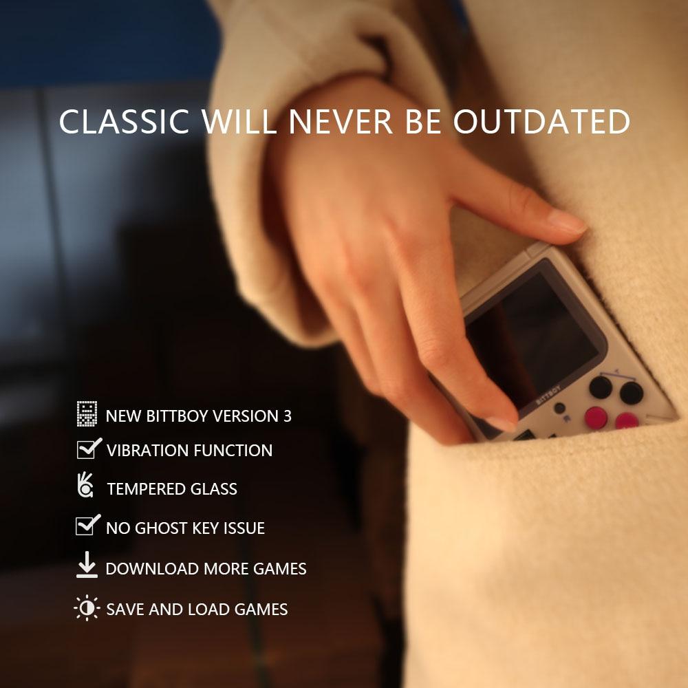 Nuevo BittBoy V3.5 consola de videojuegos Retro 5