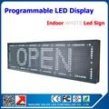 P10 реклама из светодиодов вывеска высокая яркость белого из светодиодов экран знак 32 * 16 матричный из светодиодов прокрутки доска объявлений