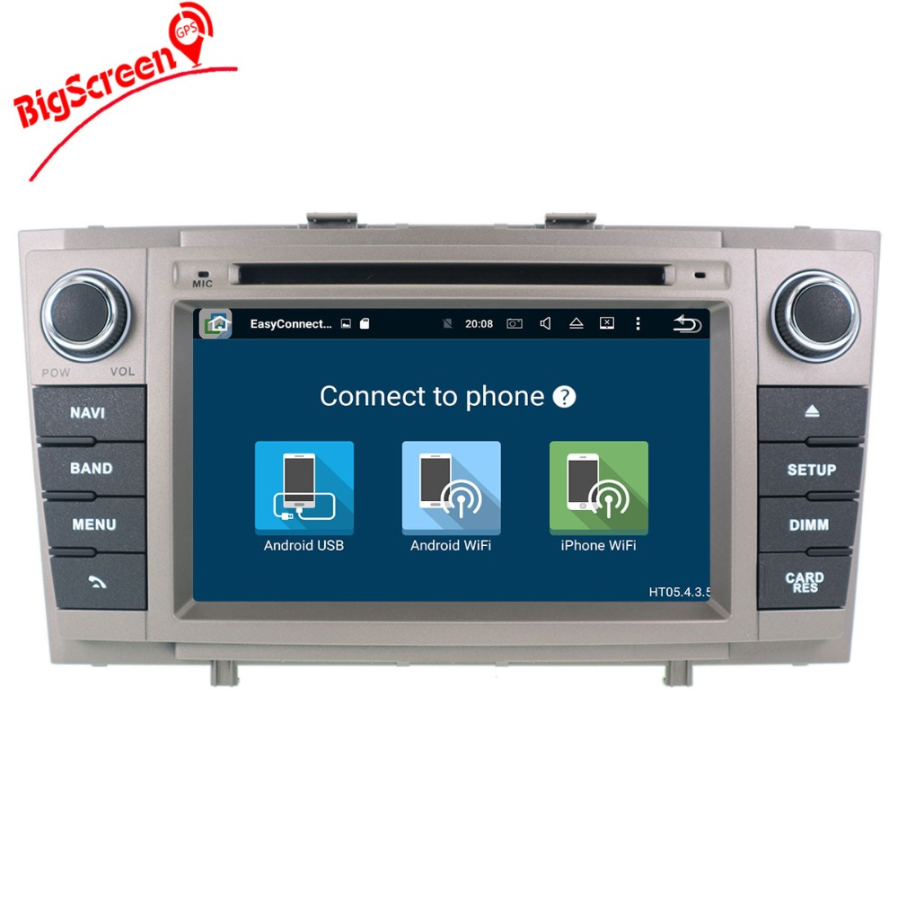 Android 9,0 4 + 64G Auto DVD Stereo Multimedia Steuergerät Für Toyota T27 Avensis 2009-2014 Auto PC radio GPS Navigation Video Audio