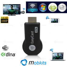 2015 EasyCast OTA TV Stick Lastest Model Good TV Dongle EZCast M2 Type Mirror Solid DLNA Miracast Airplay New Chromecast