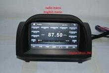 "7 ""para Ford Fiesta 2012-2014 coches reproductor de dvd, Navegación GPS, IPOD, BT, radio, 3g, canbus, SYNC100 %, mueca de dolor 6.0, portugués, español, inglés"