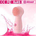 china good selling special bristle facial electric silicone sonic  face instrument with cleanser