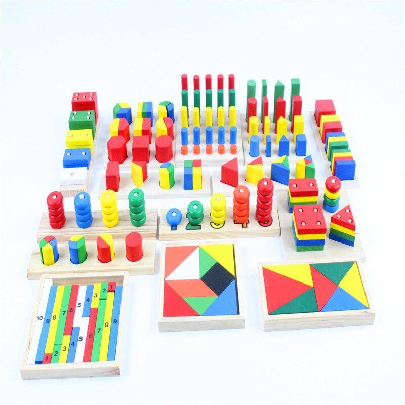 Image 3 - Детские игрушки Монтессори, сенсорные игрушки, 1 набор = 14 шт.,  для раннего развития, Дошкольное обучение, детские игрушкиtoy  texturestoy story piggy banktoy plush