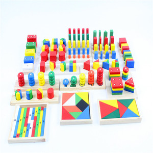 Image 3 - Baby Toy Montessori Sensorial Toys 1 lot =14 pieces Early Childhood Education Preschool Training Kids Toys Brinquedos Juguetes
