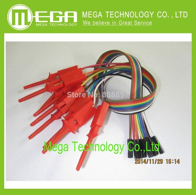 !!!10pcs,Quality test of the quality test hook clip. Logic analyzer test folder. For USB 24M 8CH