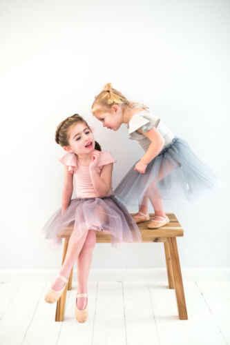 2019 יילוד תינוקות בייבי בנות סרבל בגד גוף כותנה Romper תלבושות טוס שרוול כותנה בלט ללבוש חליפת קיץ נסיכה 0-24M