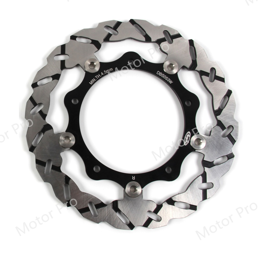 Front Brake Disc For Yamaha X-MAX YP R 250 2005 - 2013 Brake Disk Rotor X Max YP125R ABS 2006 2007 2008 2009 2010 2011 2012 rear disc brake caliper set left with pads for yamaha utv rhino 700 2008 2009 2010 2011 2012 2013