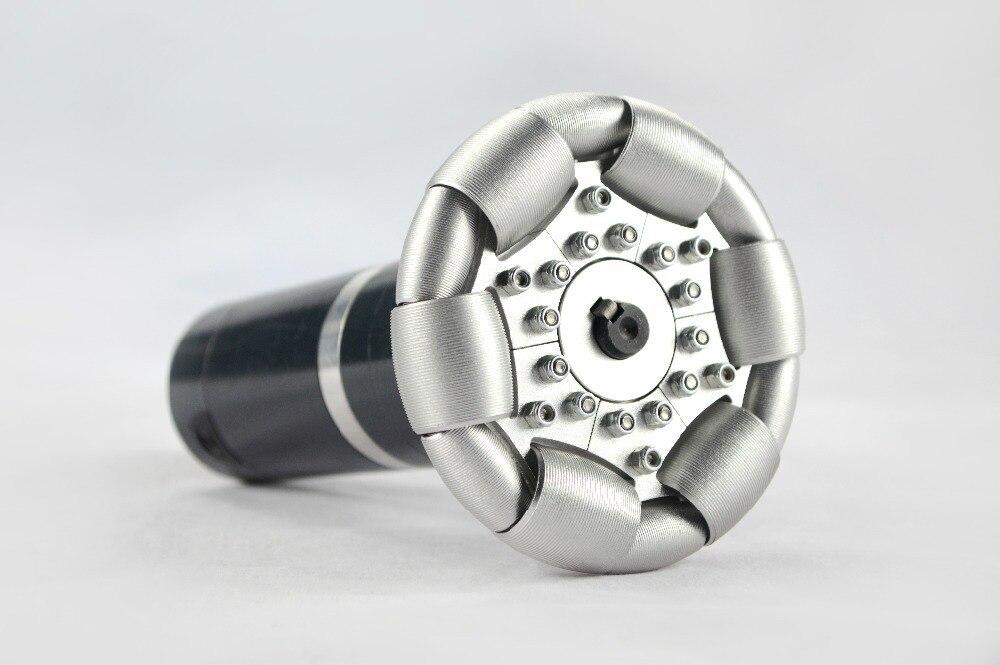 Rueda omni de aluminio única de 4 pulgadas (100mm) 14179
