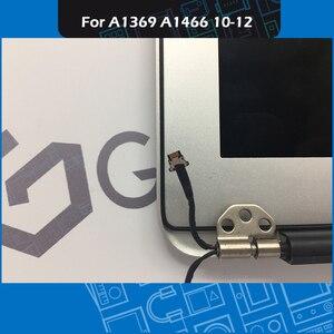 Image 3 - Orijinal A1369 A1466 LCD ekran meclisi Macbook Air 13 inç için ekran komple meclisi yedek 2010 2011 2012 yıl