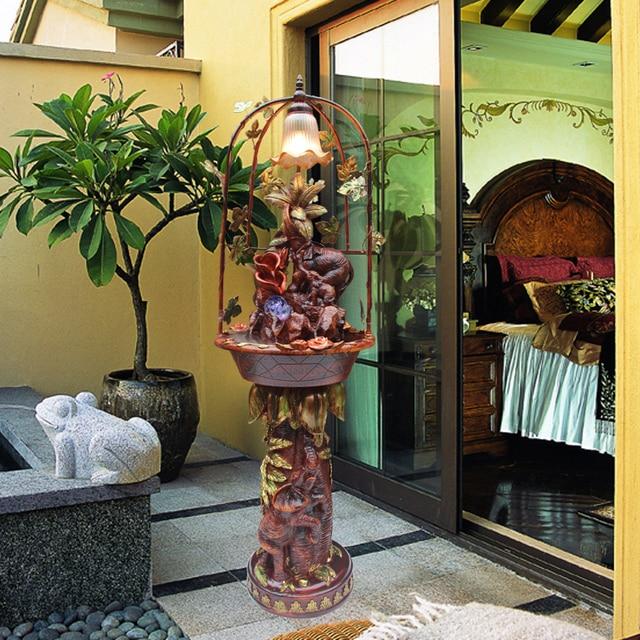 europese fontein stromend water functies geluk olifant ornamenten ...