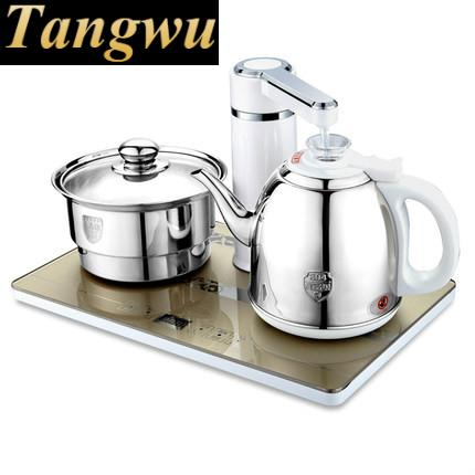 Automatic upper water electric kettle pump 304 stainless steel tea set automatic upper water electric kettle pump 304 stainless steel tea set