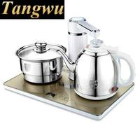 Automatic upper water electric kettle pump 304 stainless steel tea set