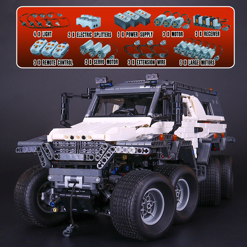 LEPIN 23011 technic series 2959PCS Off-road vehicle Model Building blocks Bricks kits Compatible LegoINGlys 5360 birthday gift 2816 pcs lepin 23011 technic series off road vehicle model moc assembling building kits block bricks compatible 5360 toy
