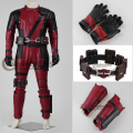 Por encargo de la película Deadpool Cosplay traje X-Men Deadpool accesorios Cosplay Halloween para adultos D0301